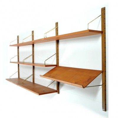 brand new 93004 9db3e Royal System Wall Unit by Poul Cadovius for Cado | Poul ...
