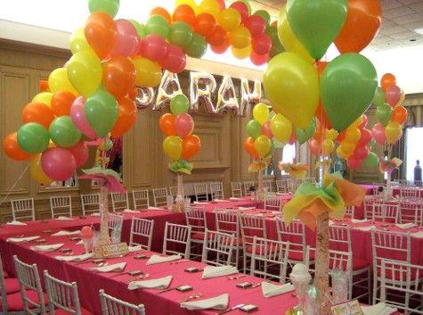 Balloon Centerpieces For Birthdays Birthday Party Balloon