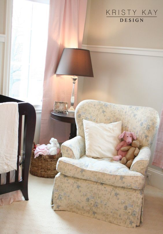 Reading Nook In A Feminine Nursery For A Brookline, MA Home. Designed By  Kristy. Reading NooksBostonInteriorsNurseriesCozy ...