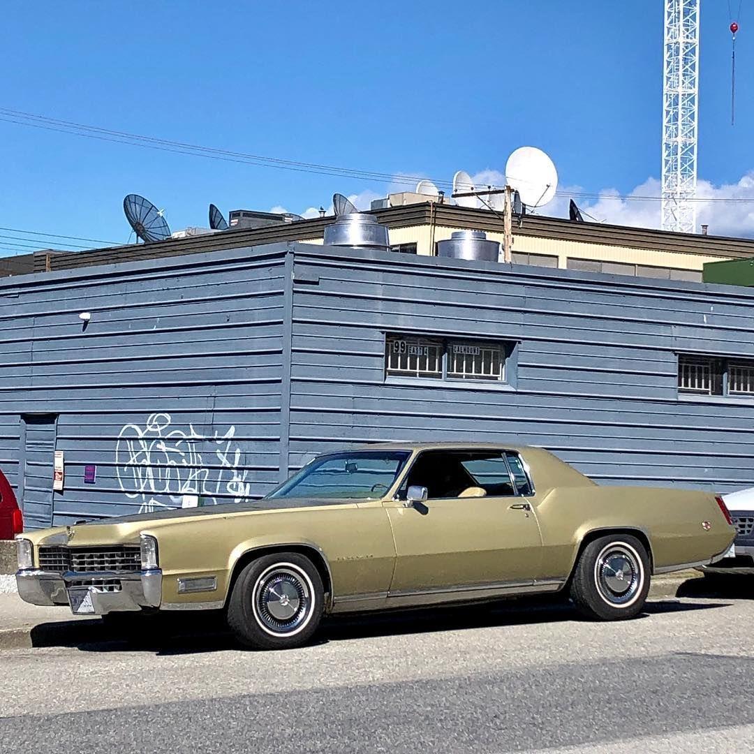 Pin On Cadillac Eldorado 1967 68