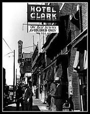 Colored Only Businesses Photo 11X14 - Memphis TN 1939 - Buy 2 Get One FREE