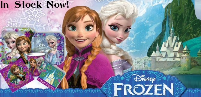 Disney Frozen BirthdayParty Canada