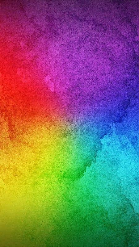 Rainbow Of Color Arte Colori Tonalità Chiare E Sfondi