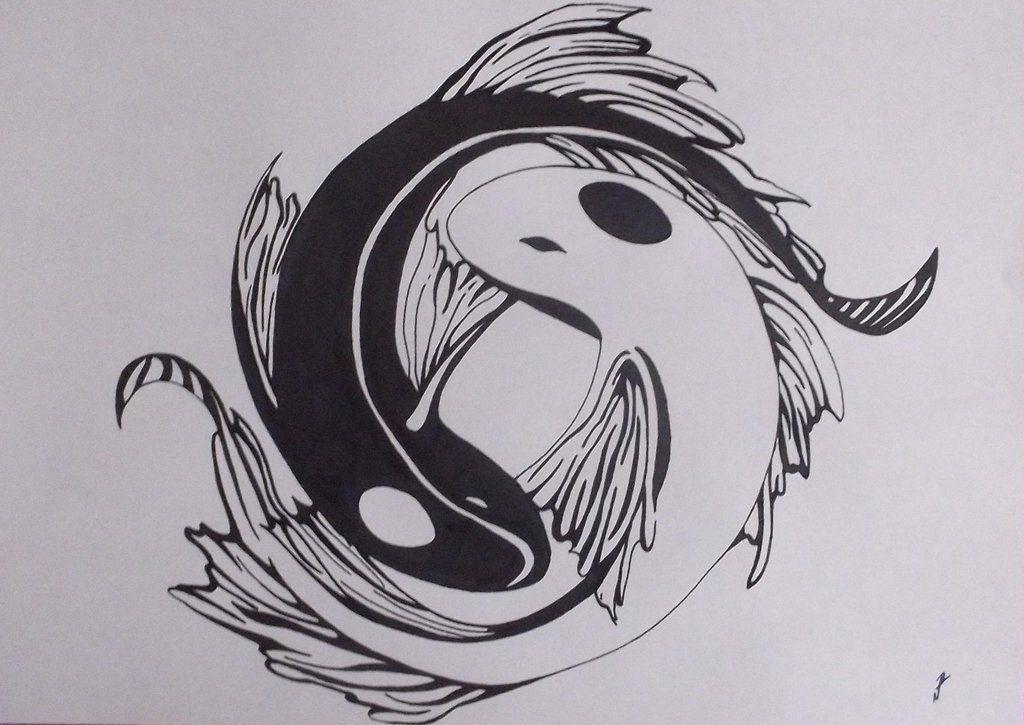 849670b8d Yin Yang koi fish by RyuFujin4.deviantart.com on @deviantART ...