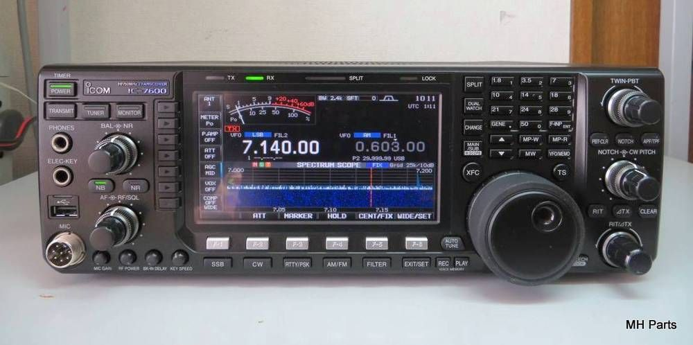 Icom IC-7600 HF/6M All-mode DSP Amateur Radio Transceiver #Icom