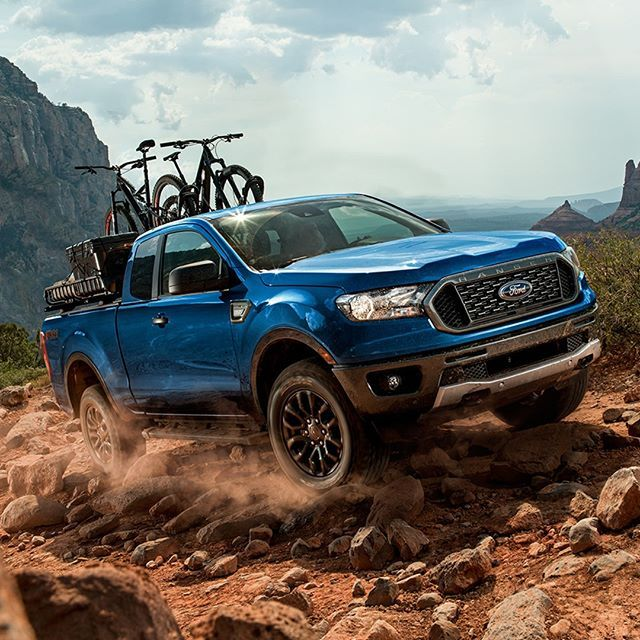 The 2019 Ford Ranger Mid Size Pickup Trucks Ecoboost Four Cylinder Takes The Fuel