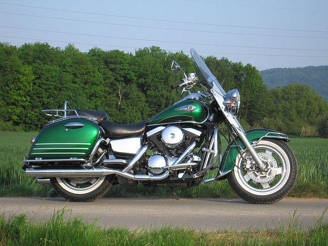 kawasaki vulcan 1500 classic tourer | fotos de motos | pinterest