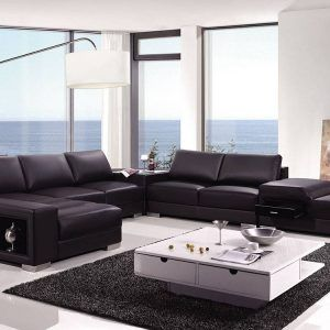 Backless Sectional Sofa Cleanupflorida For Proportions 1284 X 998 High End  Leather Sectional Couch   A Leather Couch Can Be Your Very Best Friend When  Doin