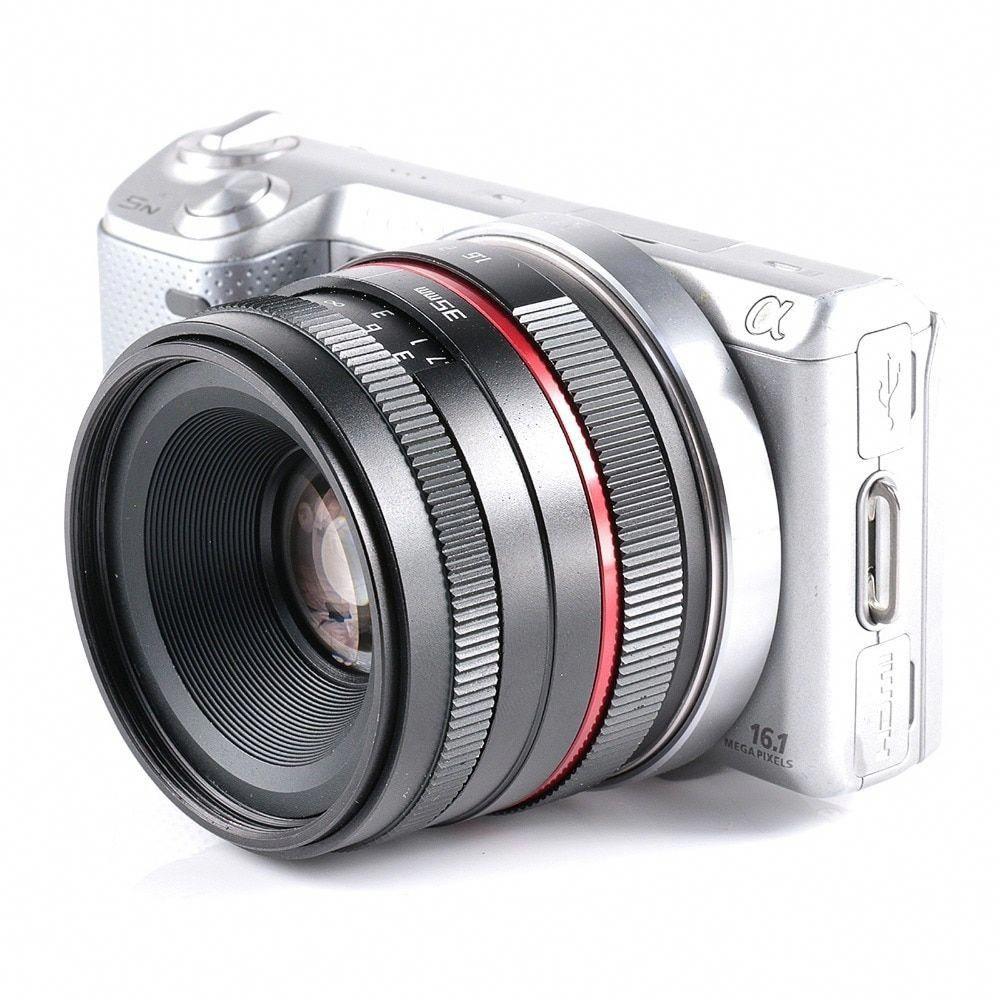 35mm F1 6 Small Wide Angle Manual Aps C Camera Lens For Sony E Mount Nex 5t A6300 A6000 A5100 Review 35mmdigitalcamera Kamera