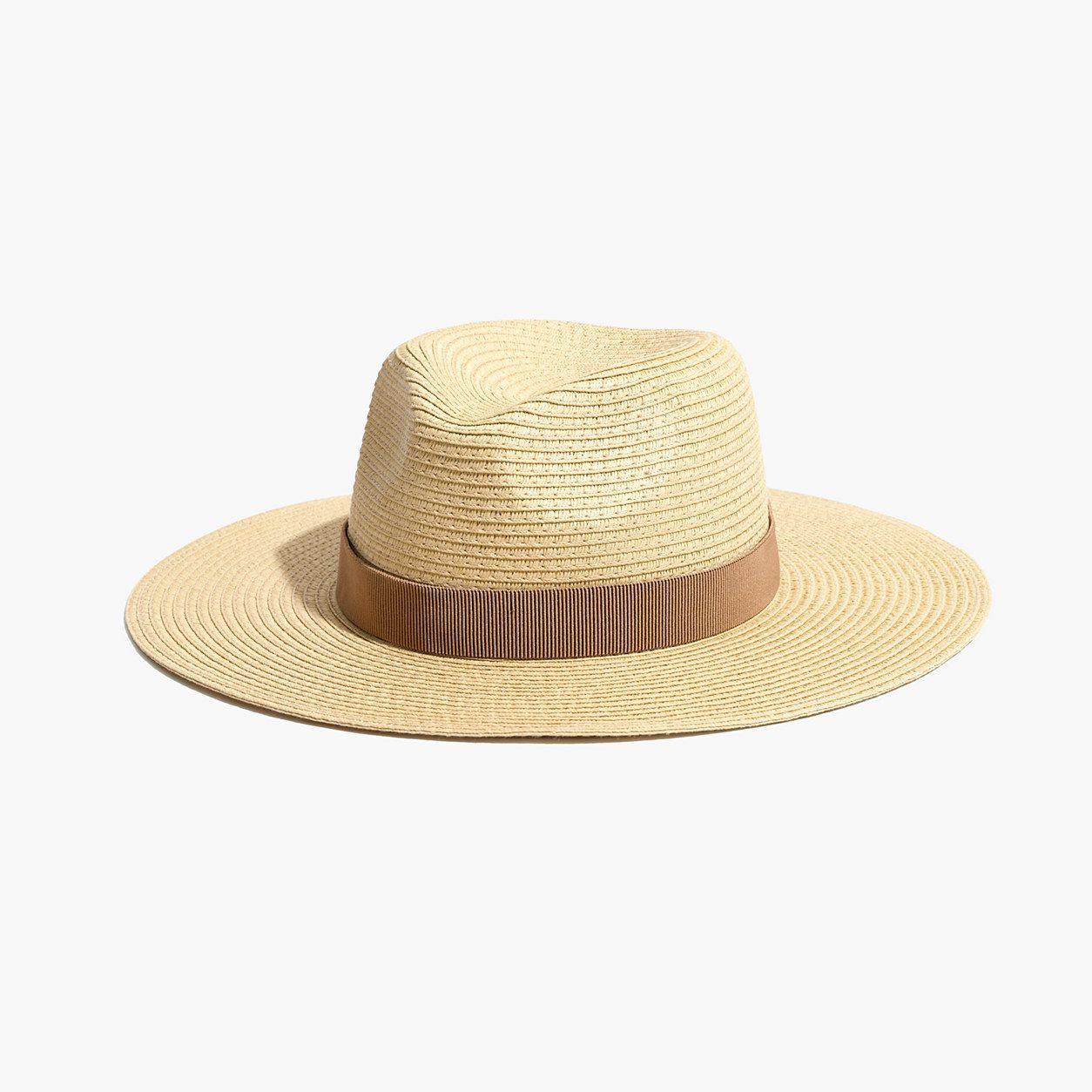 252bdb1d16066 Madewell Packable Mesa Straw Hat (Size M-L