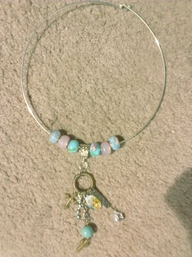 Faith Choker is going up for auction at  9am Tue, Apr 30 with a starting bid of $15.
