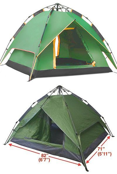 Tents 179010 Instant Automatic Pop Up Backpacking C&ing Hiking 4 Man Tent -u003e BUY  sc 1 st  Pinterest & Tents 179010: Instant Automatic Pop Up Backpacking Camping Hiking ...
