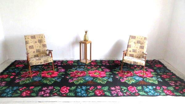 Perzisch Tapijt Groen : ≥ perzisch tapijt cm blauw groen rood vloerkleed
