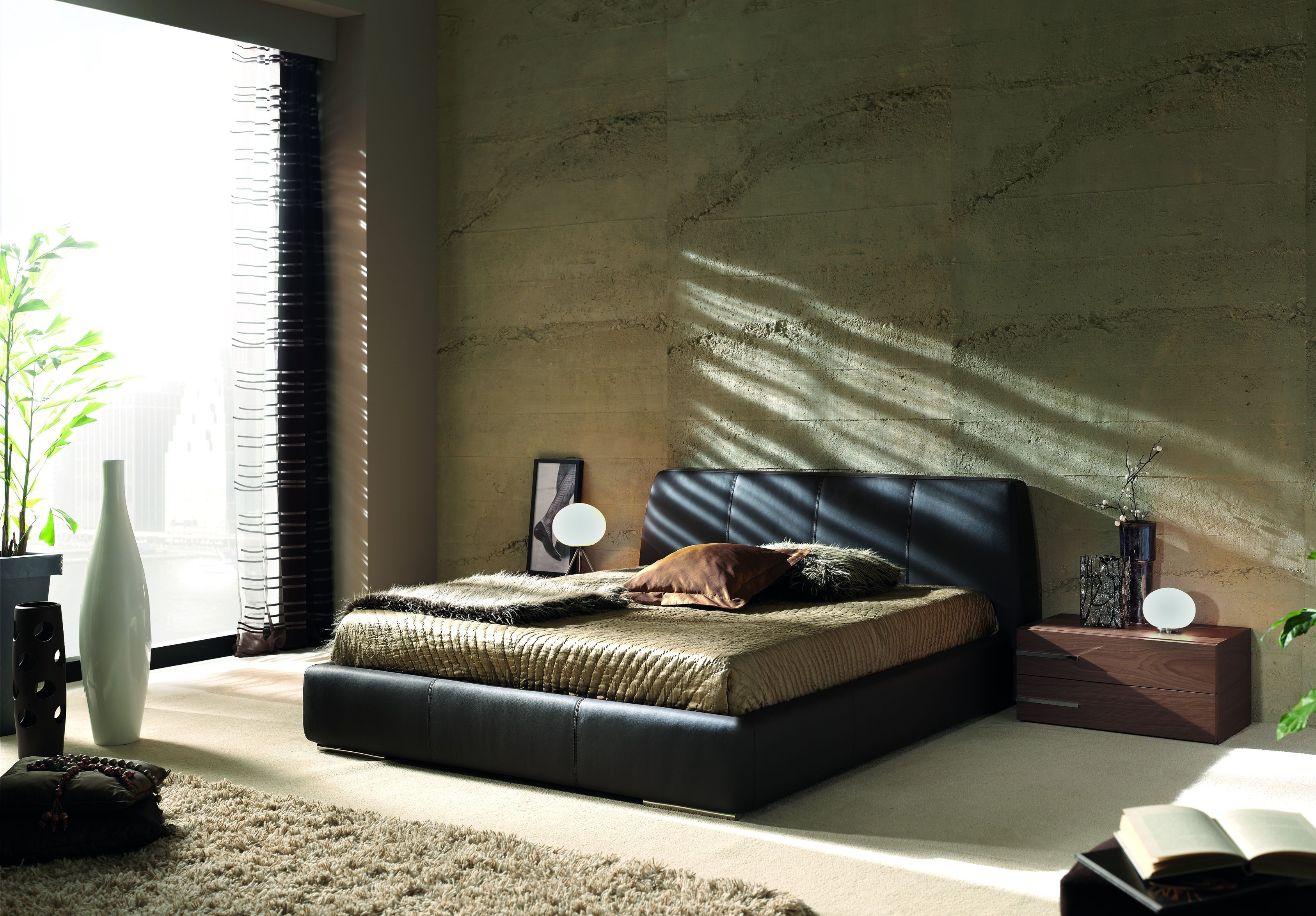 London Modern Bed By Gamamobel Spain Modern Bedroom Furniture Modern Platform Bed Modern Bedroom