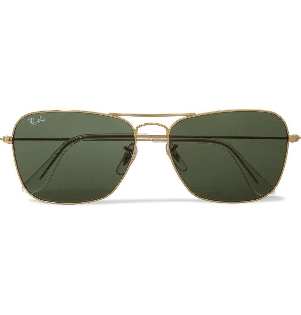 Ray-Ban - Caravan Metal D-Frame Sunglasses | MR PORTER | Clothing ...