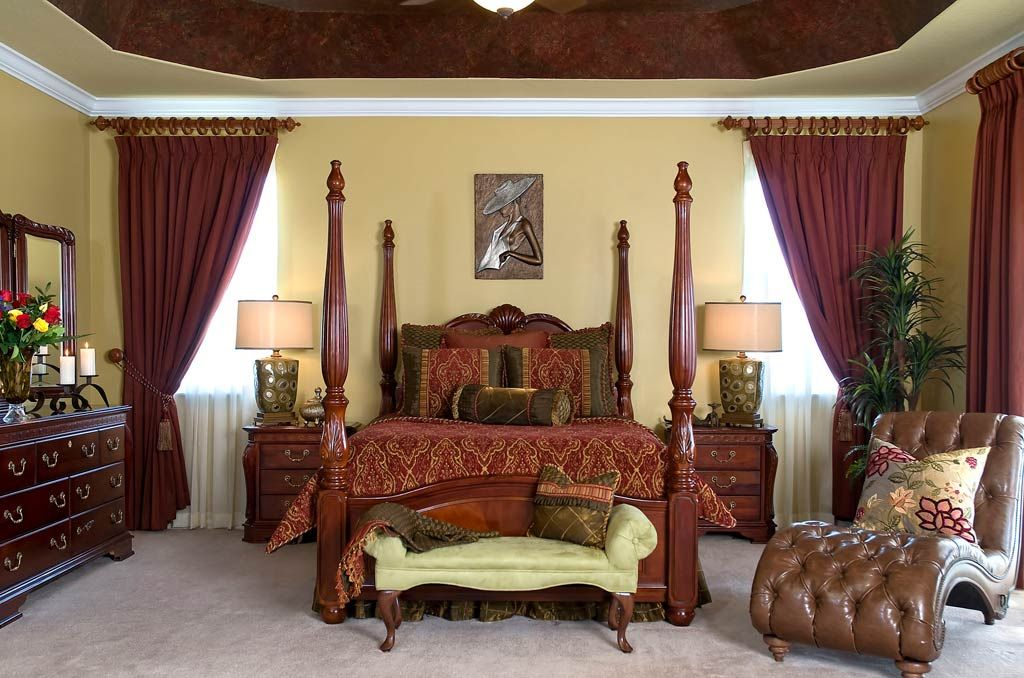 Fascinating Bedroom Interior With Traditional