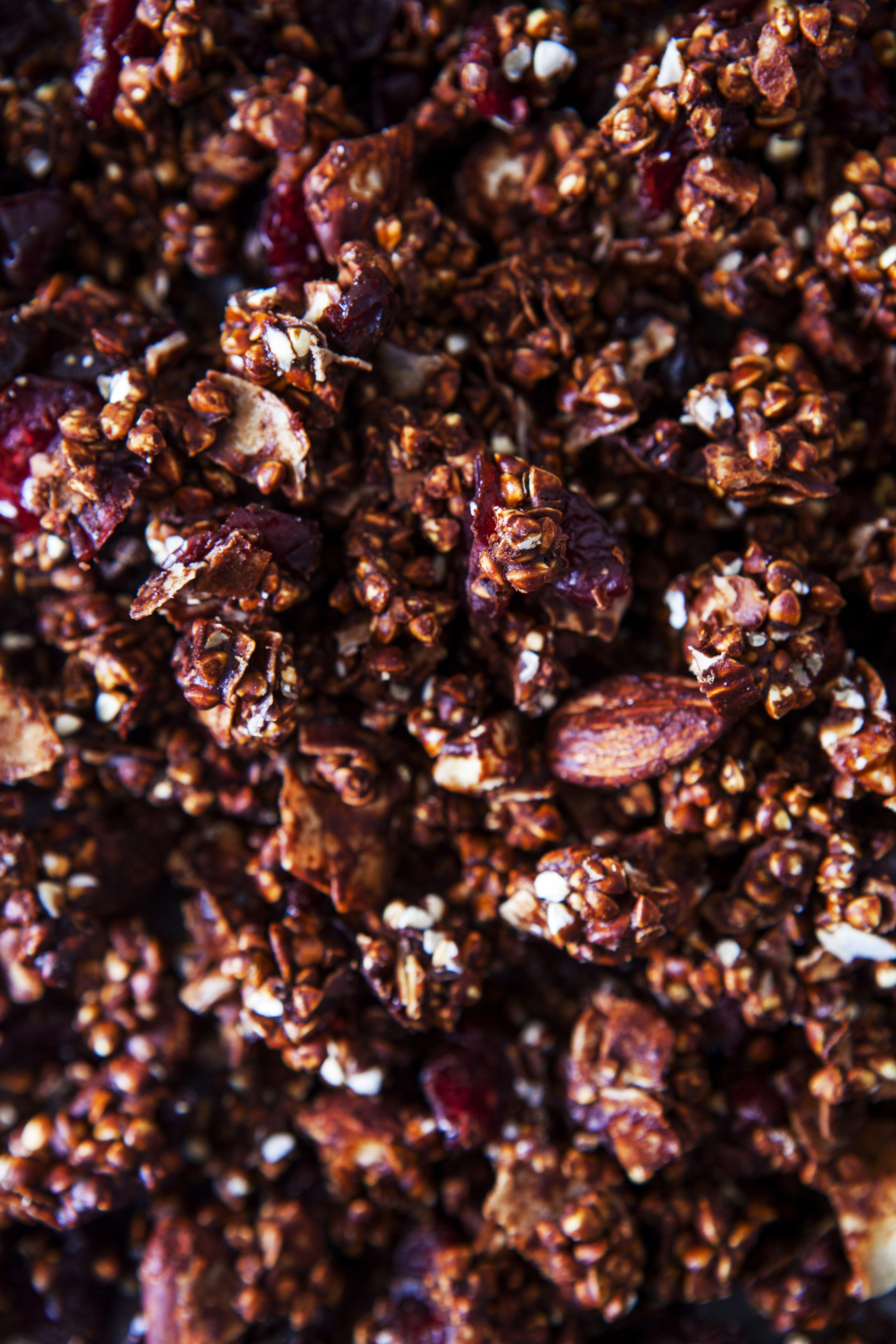 Chocolate buckinis vegan gluten free vegan sweets