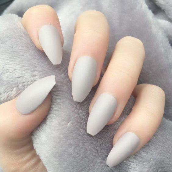 10 Trending Fall Nail Colors To Try In 2020 Nail Colors Gray Nails Fake Nails