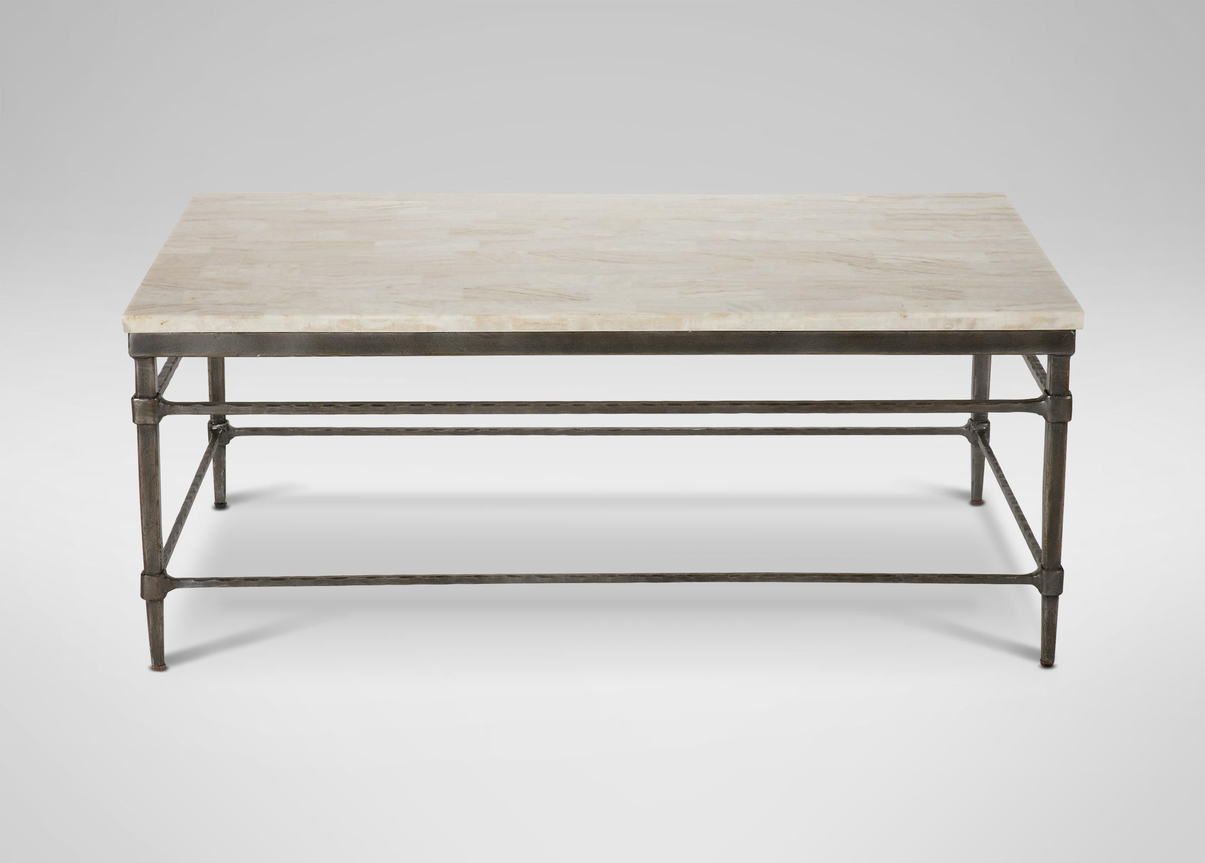 Delicieux Vida Large Stone Top Coffee Table | Coffee Tables | Ethan Allen