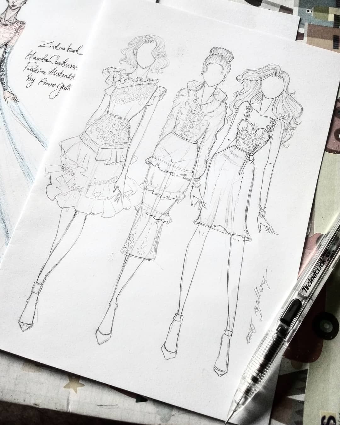 The 10 Best Today On Twitter In 2020 Illustration Fashion Design Fashion Art Illustration Fashion Drawing Tutorial