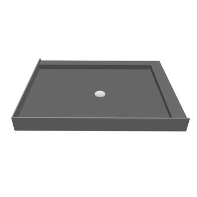 Tile Redi 42 X 30 Double Threshold Shower Base With Drain Plate