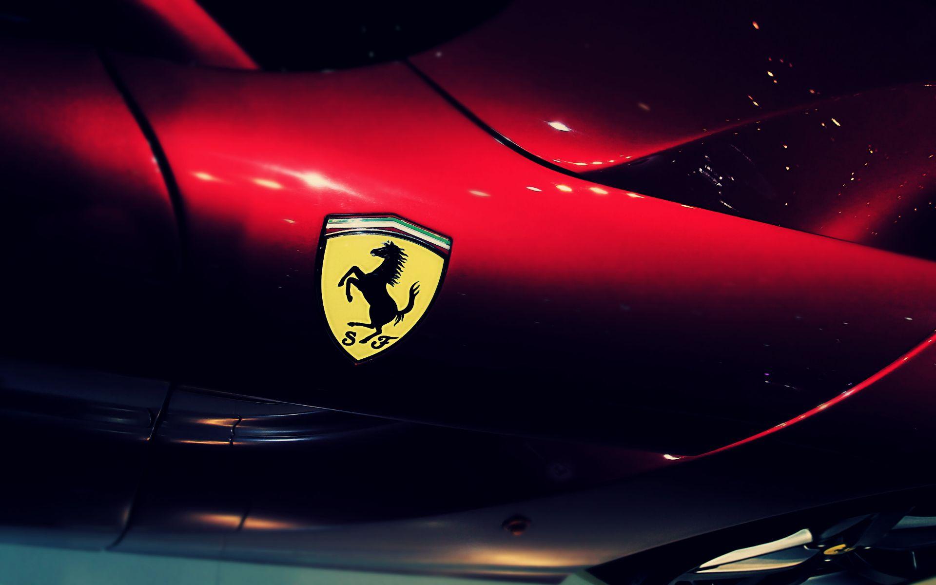 Ferrari Logo Hd Wallpaper Con Immagini Immagini Ferrari