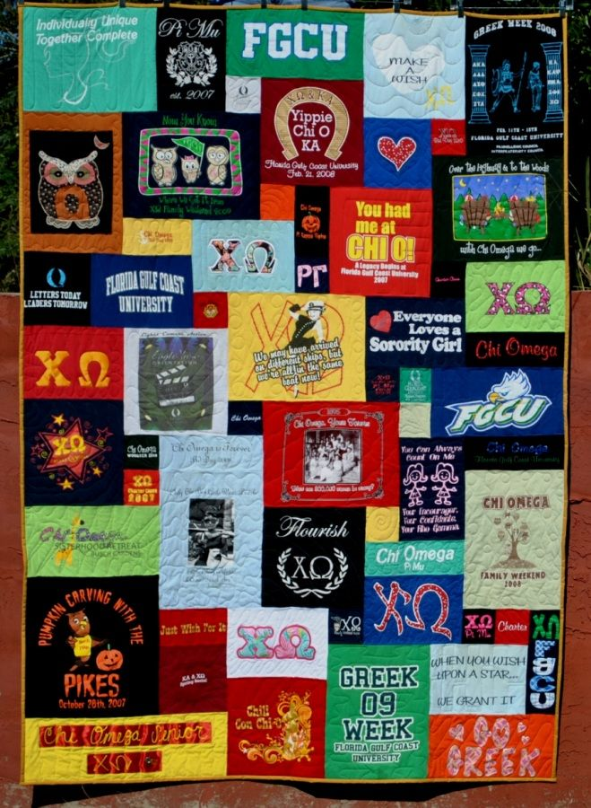 Pin By Too Cool T Shirt Quilts On Greek Quilts Shirt Quilt Quilts Tshirt Quilt