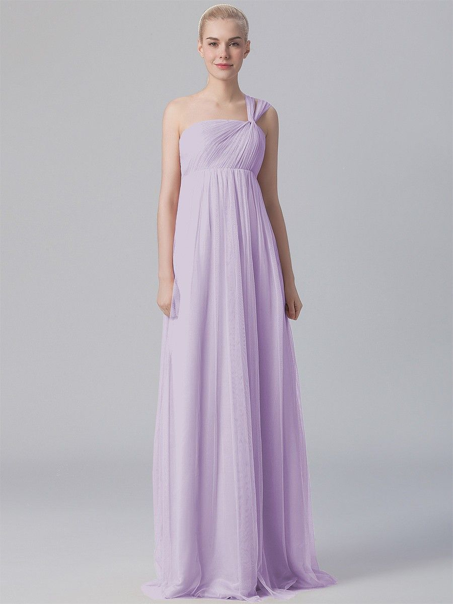 Britt And Mike Pastel Lavender One Shoulder Tulle Dress Plus Pee Sizes Available Hundreds Of Styles Tons Colors