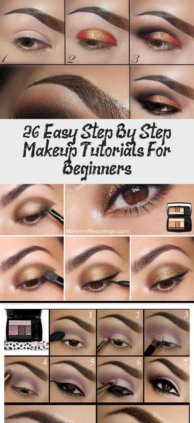 Photo of 26 Easy Step By Step Makeup Tutorials For Beginners – Best Makeup