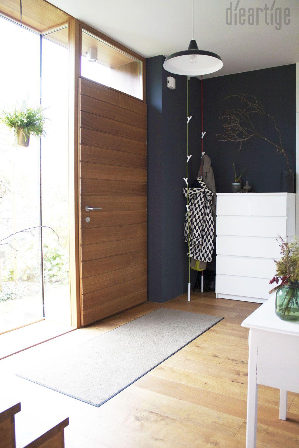 Modernes bungalow innenarchitektur wohnzimmer eingangsflur  the dark side  flur  pinterest  dark side