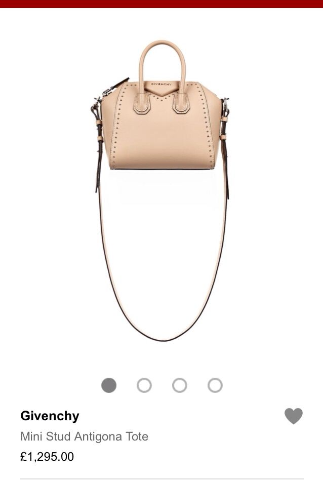 #Givenchy #luxuryliving nude handbag similar to the rockstud