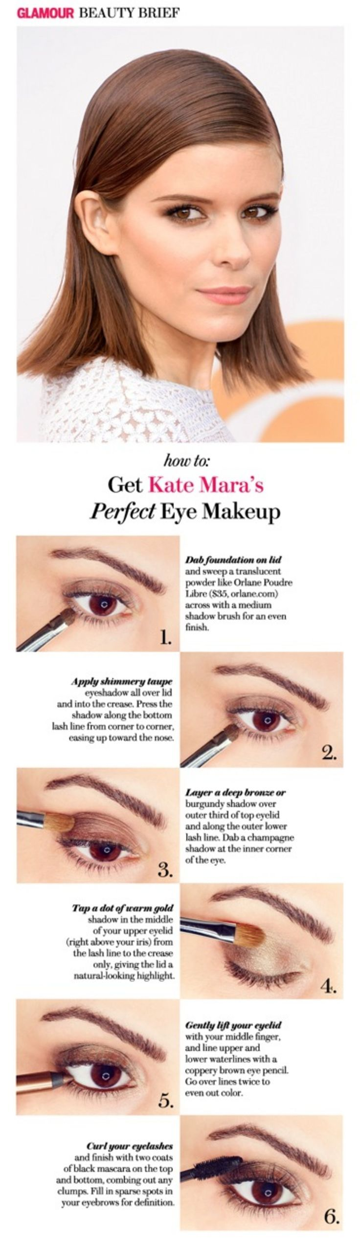 Photo of How to Copy Kate Mara's Perfect Smoky Bronze Eye Makeup,  #Bronze #Copy #Eye #Forbronzeeye #K…