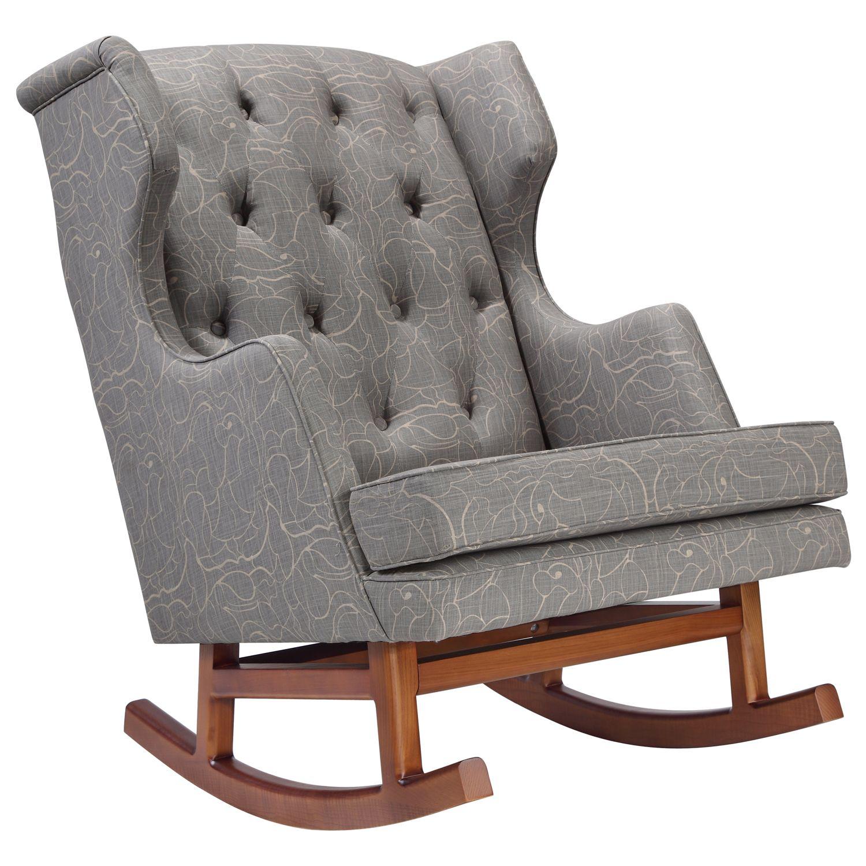 Astonishing Nursery Works Limited Edition Empire Rocker Perennial Lamtechconsult Wood Chair Design Ideas Lamtechconsultcom