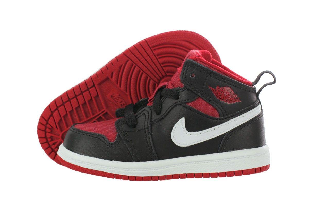 buy online 7c077 44d07 Nike Jordan 1 Mid (BT) 640735-020 Infant / Toddler   AIR ...