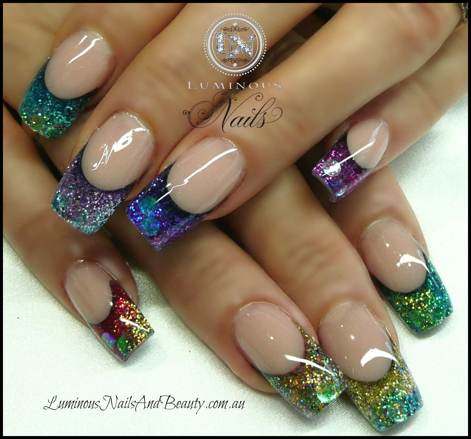 Luminous Nails | Nail Art | Pinterest | Cada uno, Color y Uña decoradas