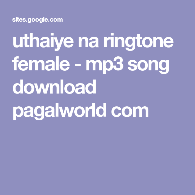 hook up ringtone download mp3 pagalworld