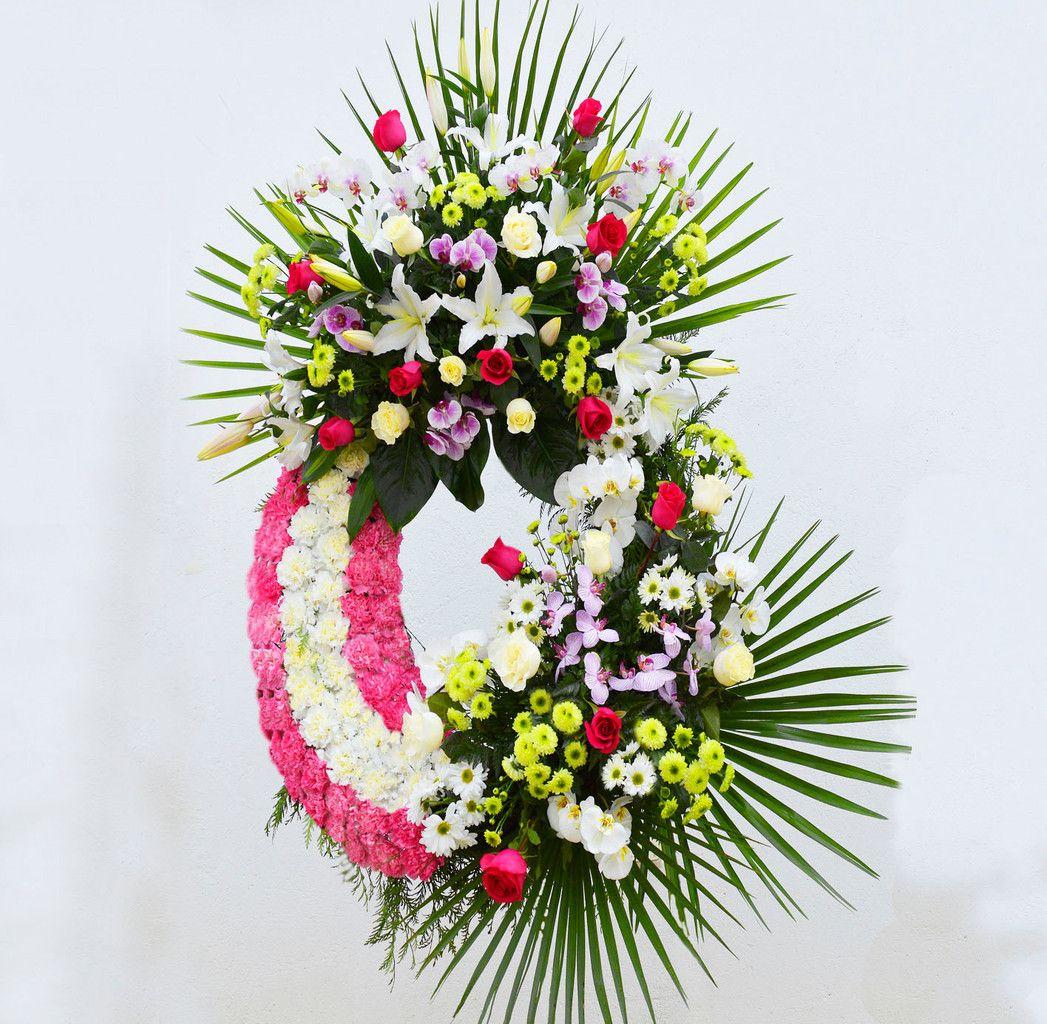 Coronas De Flores Para Los Difuntos Corona De Flores Pinterest