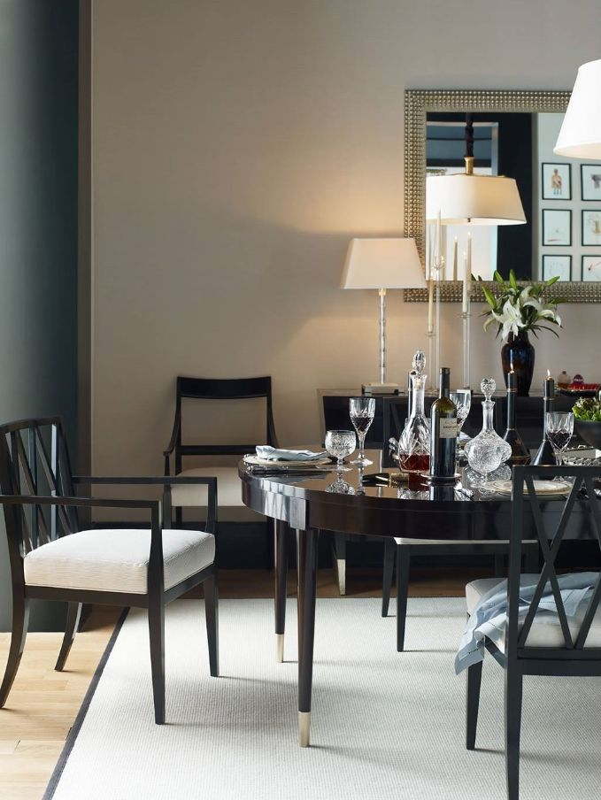 Jacques Garcia Elegance In Dining From Baker