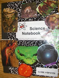 Ginger Snaps: Science Notebooks