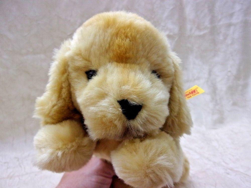 Steiff Little Friend Golden Retriever Puppy Lumpi Plush 280160