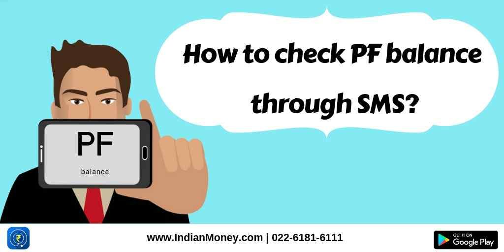 How to check pf balance through sms sms text messages