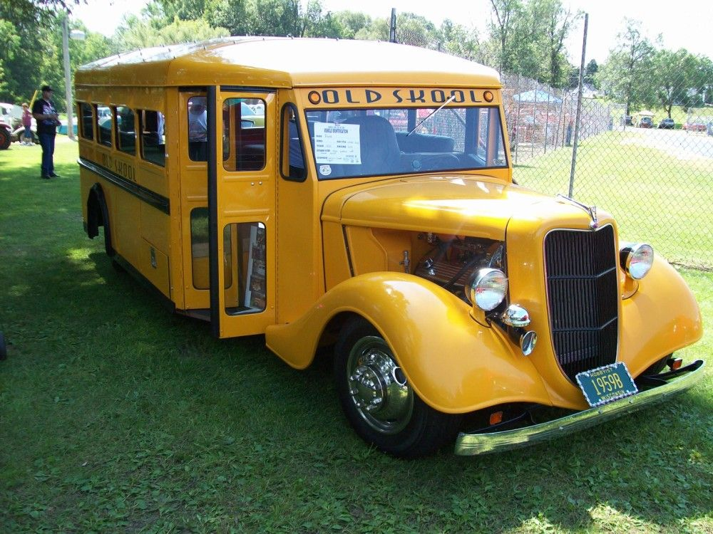 Custom Bus Street Rod | Vintage buses | Pinterest | School buses ...