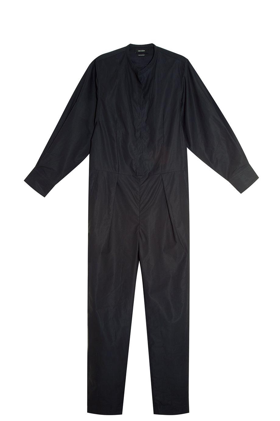 Discount Latest Isabel Marant Woman Toby Cotton-poplin Maxi Dress Black Size 36 Isabel Marant Cheap Explore eyB2c