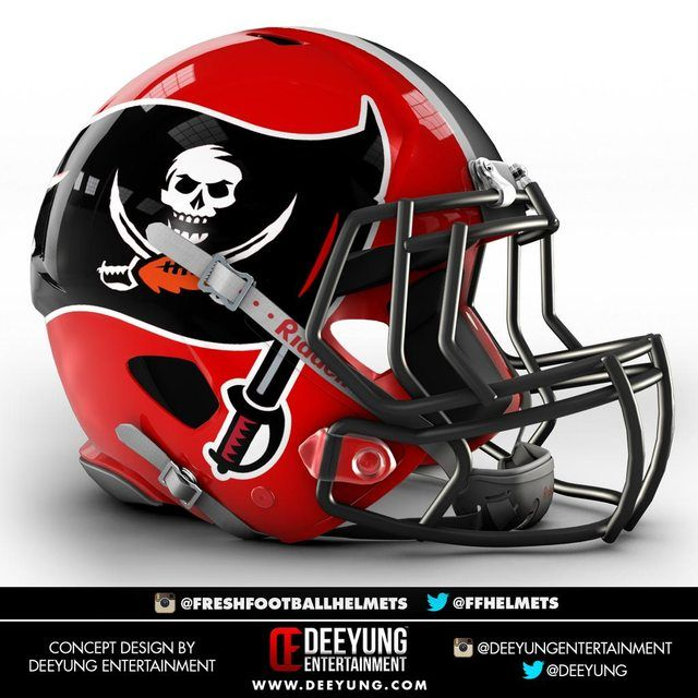 Nfl Concept Helmets By Imgur Tampa Bay Buccaneers Football Helmets 32 Nfl Teams Buccaneers Football