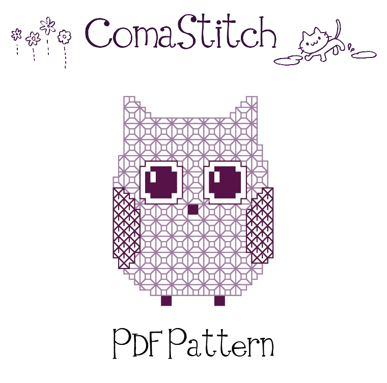 Freeprintableowlembroiderypattern Fiber Fun Pinterest