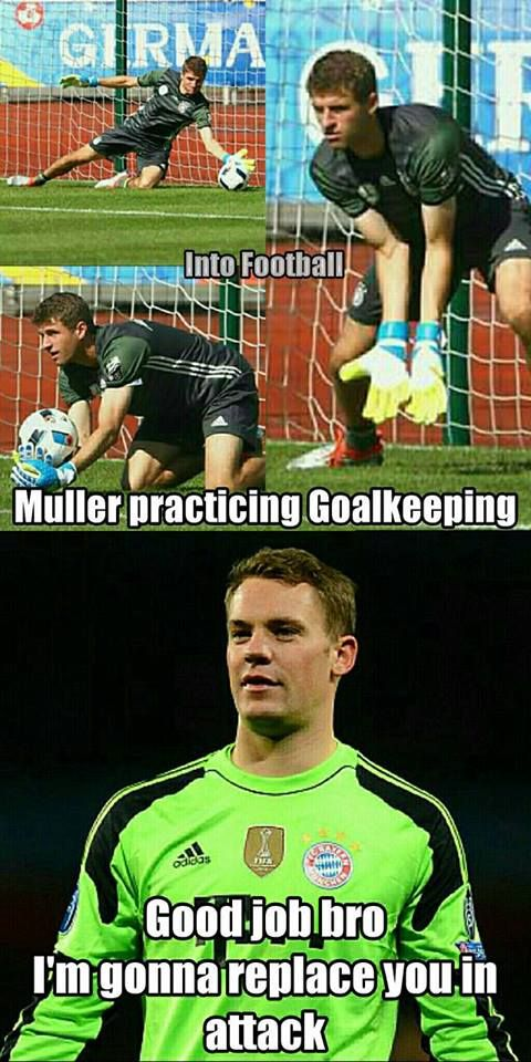 Manuel Neuer right now..