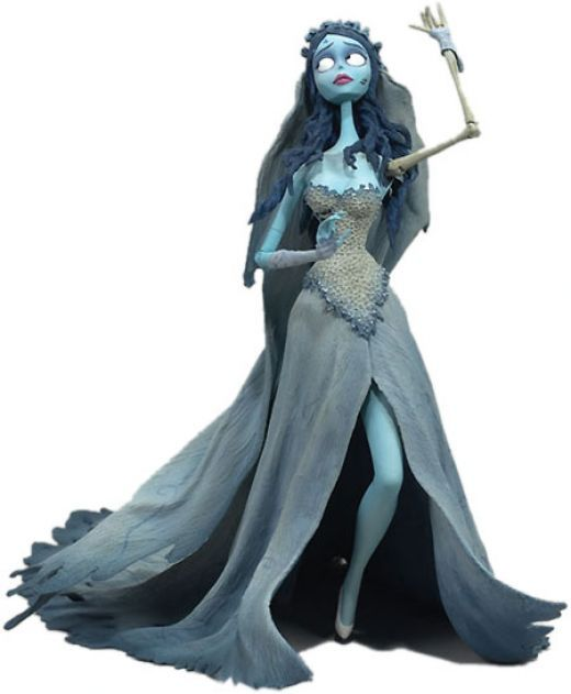 The Corpse Bride  I'll do this for one of the Zombie Walks
