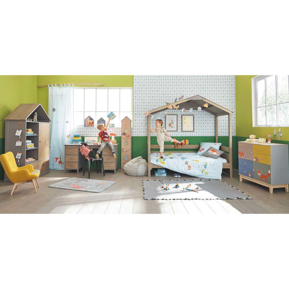 Maison Du Monde Letti Per Bambini.Letto A Capanna Per Bambini 90 X 190 Nuzzo Kids