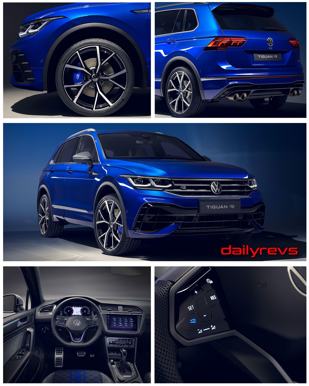 2021 Volkswagen Tiguan R | DailyRevs.com in 2020 | Tiguan ...