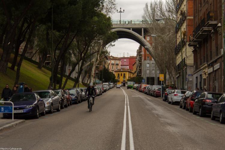 Calle de Segovia, el viaducto